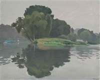 l'ile, poissy by albert marquet