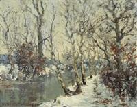environs de thielle by charles baillon-vincennes