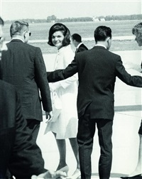 jackie kennedy at the demo convention by r. samuels