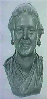 napoletana: buste eines lachelnden neapolitanischen madchens by pascquale fosca