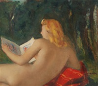 nudo femminile by silvio consadori