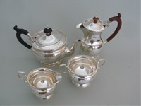 kaffe/teeservice (set of 4) by adie brothers (co.)
