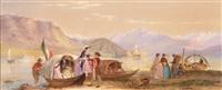 isola dei pescatori am lago maggiore by john absolon