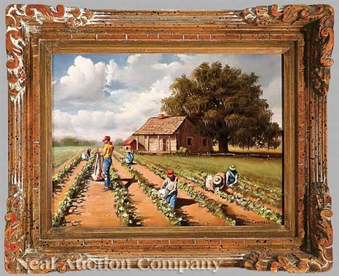 picking cotton by john reed campbell