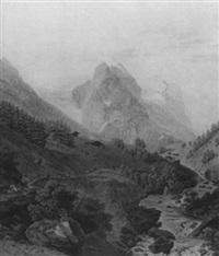 alpenlandschaft by simon daniel lafond