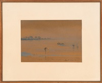 marsh landscape, likely charleston, south carolina by alice ravenel huger smith