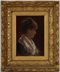 portrait d'une femme by a. vianelli