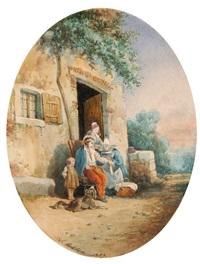 versorgung eines verwundeten soldaten by luigi ashton