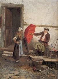 le raccomodeur de parapluie by françois roeder