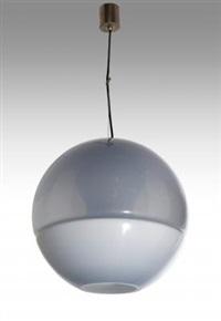 una lampada a sospensione by mazzega