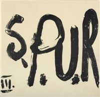spur (heft iii, w/29 works) by gruppe spur