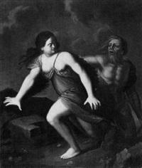 neptun amphitrite verfolgend by franz ludwig raufft