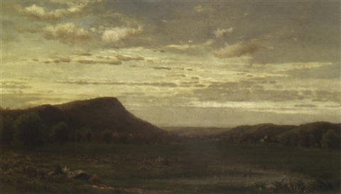 landscape by richard william hubbard