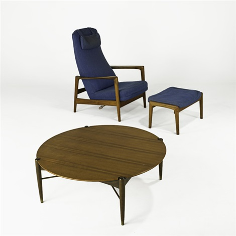 coffee table adjustable lounge chair and ottoman 3 works by folke ohlsson