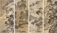 landscape by ning dizhong