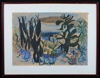 vegetazione costiera by heinrich steiner