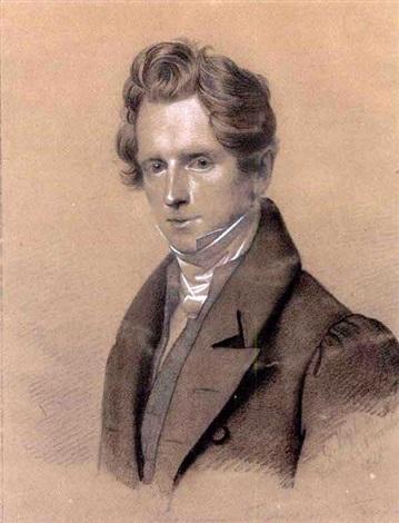 portrait des hermann freiherr von friesen by carl christian vogel von vogelstein