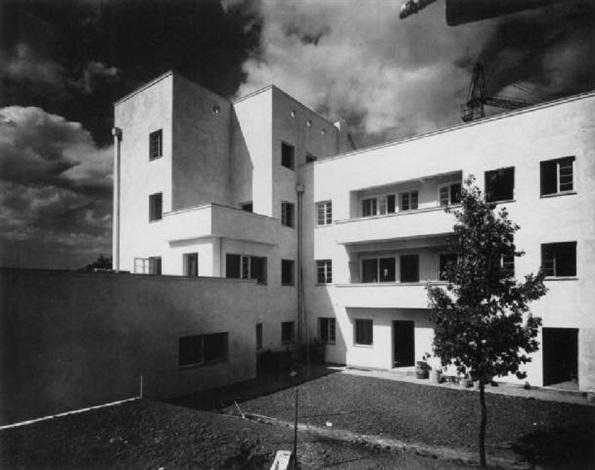 terrassenhaus weissenhofsiedlung stuttgart architekt. Black Bedroom Furniture Sets. Home Design Ideas