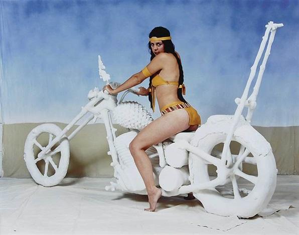 biker girl by liz craft