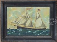 portrait of the schooner c. a. king by american school (19)