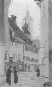 altstadtgasse by alfred renz