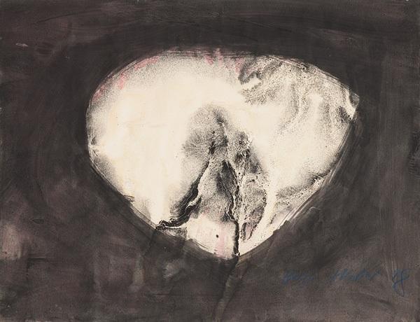 ohne titel abstrakte komposition by hugo weber