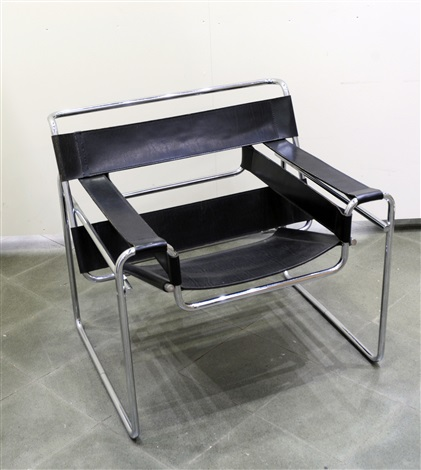 fauteuil vassili by ludwig mies van der rohe on artnet. Black Bedroom Furniture Sets. Home Design Ideas