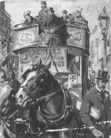 the omnibus by terence cuneo