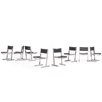 dining chairs (8 works) by merrow associates