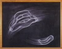 black chalkboard (ahhhh, please) by gary simmons