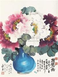 牡丹 (peony) by ma xinle