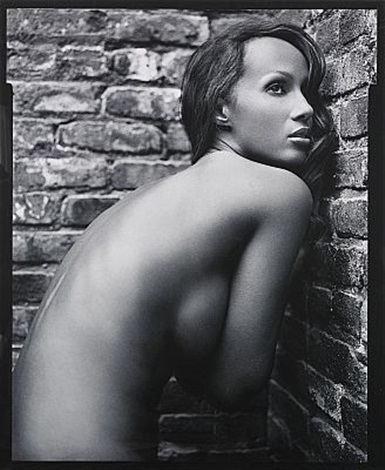 iman nyc by mark seliger