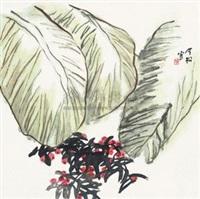 绿蕉红珠 by feng jinsong