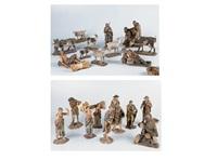 grupo de pastores (24 works) by ramón amadeu
