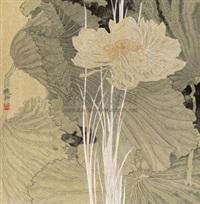 金荷 (lotus) by mo xiaosong