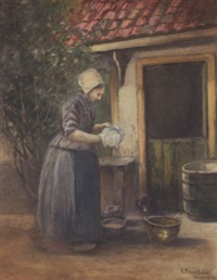 dutch woman by edward taylor snow