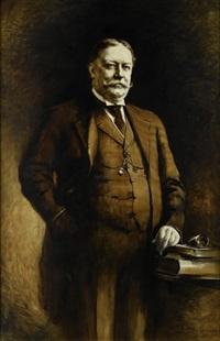 porträt des amerikanischen präsidenten william howard taft by august benziger