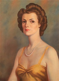 portrait of kathleen robey by clarence francis busch