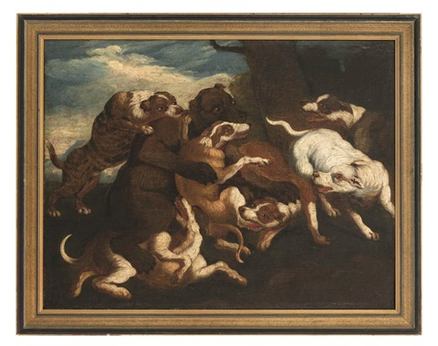 bärenhatz by frans snyders