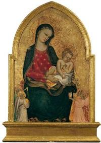 madonna mit dem kind und vier engeln by giovani di francesco toscani