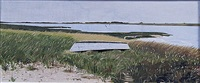 nantucket east pond, tuckernuck by john austin