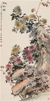 chrysanthemum by hu hezhai