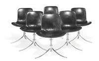 pk-9 chairs by poul kjaerholm