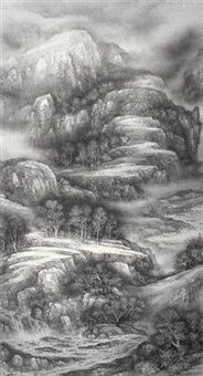 山水 (landscape) by xu changjiang
