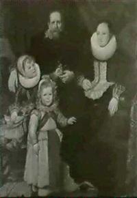 der maler un seine familie by hugo vogel