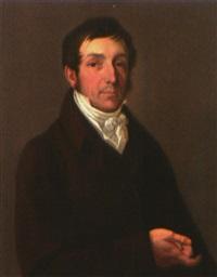portrait des generalkonsuls und bankiers konrad august thieme by gustav adolph henning
