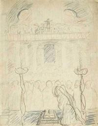 in der kirche by marianne werefkin