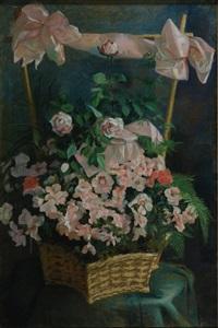 vaso con fiori by claire lemaitre