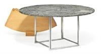 pk-54 dining table by poul kjaerholm