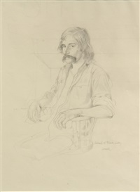 portrait of mark libby by thomas brown cornell